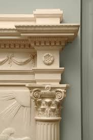 phaeton fireplace cornice and capital