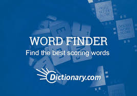 scrabble word finder dictionary