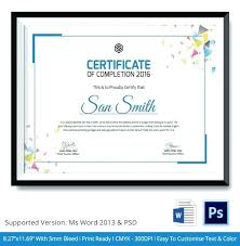 Awards Template Word Interesting Official Certificate Examples Template Free Smartfoneco