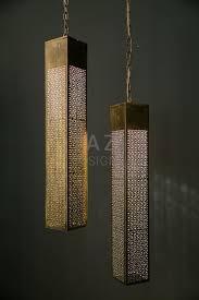 moroccan prism hanging lights chandelier