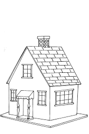 Impressive Coloring Pages Houses 23 #7948