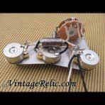 wiring kits vintage relicguitar relic ing aging aged guitar strat blender k40y 9 047uf