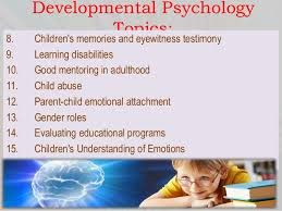 psychology term paper topics evaluating educational programs 8 developmental psychology topics 8