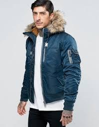 schott nylon hooded er detatchable faux fur trim navy men jacket schott nyc cargo pants premier fashion designer