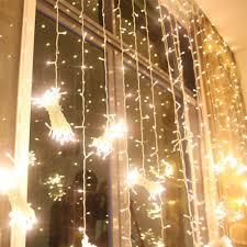 Outdoor Net Lights Warm White 224led 9 8ft 6 6ft Curtain String Fairy Wedding Led Lights