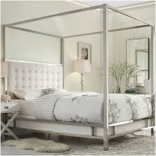 Bedroom Brown Wooden Canopy Beds With White Fabric Curtains And. used  bookshelf. bay window ...