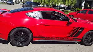 2016 FORD MUSTANG GT 5.0 CUSTOM RALLY STRIPES  D