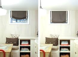 Interior Small Window Coverings Basement Bedroom Window Coverings Fascinating Basement Bedroom Window