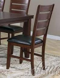 set of 2 dining chairs in cherry finish kitchen chairsdining room