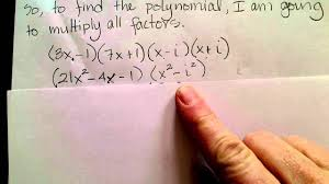 form a polynomial whose real zeros and degree are given find a polynomial given zeros youtube