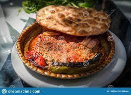 Turkish Paper Kebab, Turkish Kagit Kebabi, Antakya Kagit Kebap Stock Image  - Image of food, closeup: 198574425