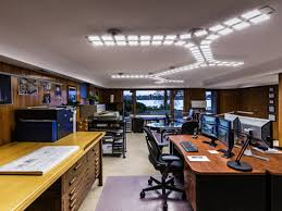 office lighting options. Plain Options Aurora Lighting Design And OLED Case Study In Office Options M