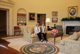 george bush oval office. Recreating The Oval Office At George W. Bush Presidential Center E