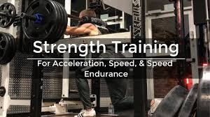 strength how sprinters train for acceleration sd and sd endurance in the gym
