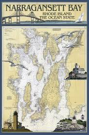 Neponset Reservoir Depth Chart Nautical Chart Narragansett Bay Rhode Island Narragansett