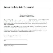Sample Confidentiality Agreement Template – Bonniemacleod