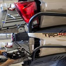 2016+ Tacoma (3rd Gen) Overland Series High Clearance Rear Bumper ...