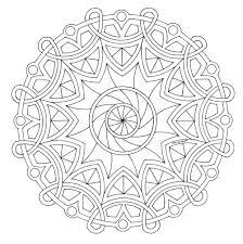Mandala Disegno Da Colorare Gratis 20 Difficile Complesso Disegni