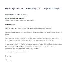 Follow Up After Interview Email Template Thank You Letter Job Fo