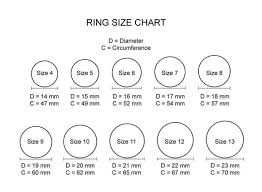 Ladies Ring Size Chart Sizer Printable Ring Online Charts Collection
