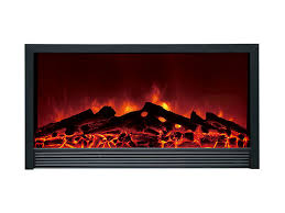 dynasty 58 in zero clearance plug in electric fireplace s14w
