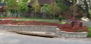 Backyard Retaining Wall Designs Amazing Building A DIY Block Retaining Wall Today's Homeowner