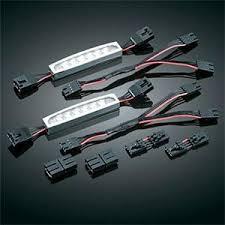 kuryakyn led lizard light kits motorcycle superstore kuryakyn lizard light expansion kit