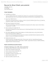Musician Resume Samples Best Of Musician Resume Example Eukutak
