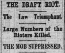「New York Draft Riots 1863」の画像検索結果
