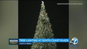 Ventura Tree Lighting 2017 Ocs South Coast Plaza To Light Up Christmas Tree