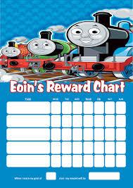 Personalised Thomas The Tank Engine Reward Chart Adding Photo Option Available