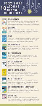 How To Get Into Management 10 Best Books Every Account Manager Should Read Infographic