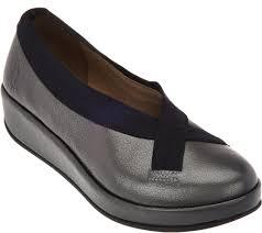Fly London Leather Slip On Shoes Bobi Qvc Com