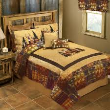doe valley rustic deer quilt bedding by donna sharp