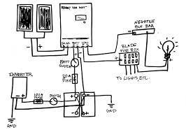 Caravan solar wiring diagram system correct epic guide to diy van build electrical and wires physical