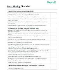 Moving Box Inventory List Template
