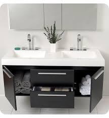 diy double sink vanity. small but elegant double sink bathroom vanity diy y