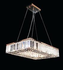 crystal semi flush mount light rose gold x rectangular chandelier antonia 4 pendant rectangle