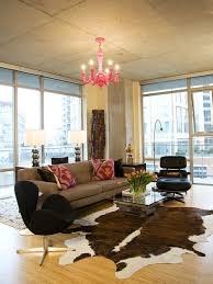 cowhide rug living room cowhide rug home design ideas remodel and decor