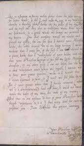 Cursive Chinese Doctors Note Letter From Elizabeth I