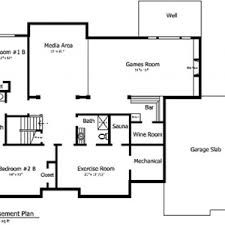 basement design plans. Basement Design Plans Ranch House Floor With Simple . Style Log Home Plans.