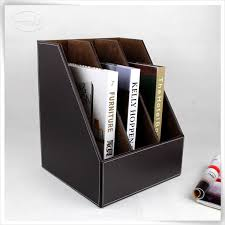 Faux Leather Magazine Holder Storage Display Luxury Faux Leather Magazine Holder Buy Magazine 78