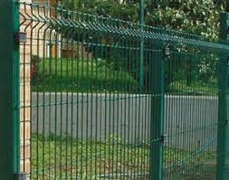 Recinzioni Da Giardino In Metallo : Recinzione modulare completa linea quot medium verde con piastre per