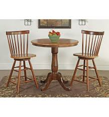 36 inch classic round table cinnamon espresso with 6 pedestal extension