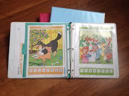 diy kids travel activity binder