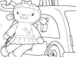 Disney Doc Mcstuffins Coloring Pages Sheets Free Online Color S