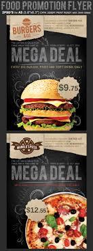 restaurant fast food promotion flyer template on behance