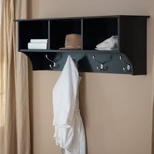Wall Mounted Coat Rack With Cubbies For employees Have to have it Prepac Sonoma Black Entryway Cubbie 20