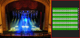 special sections orchestra loge balcony ada seating orchestra rows r s t