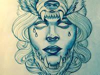 20 <b>Wolf girl</b> tattoos ideas
